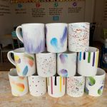 Painted cups